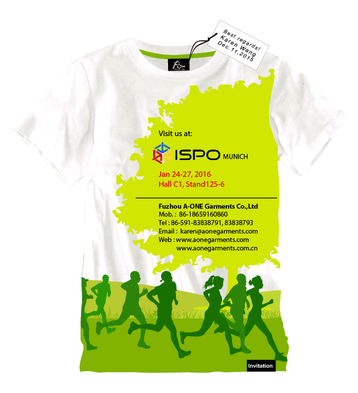 13 2016 ISPO Munich Jan,24th-27th,2016