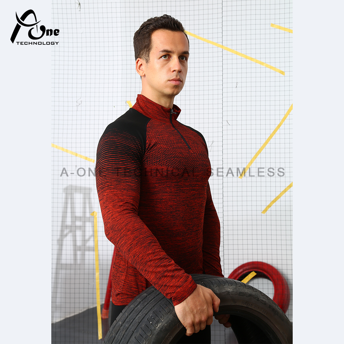 A1-90200 Men Long Sleeve Top